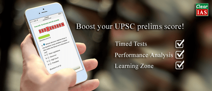 ClearIAS UPSC Prelims Online Mock Tests