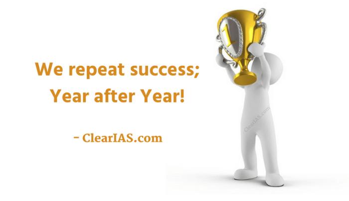 ClearIAS Prelims Test Series - We repeat success!