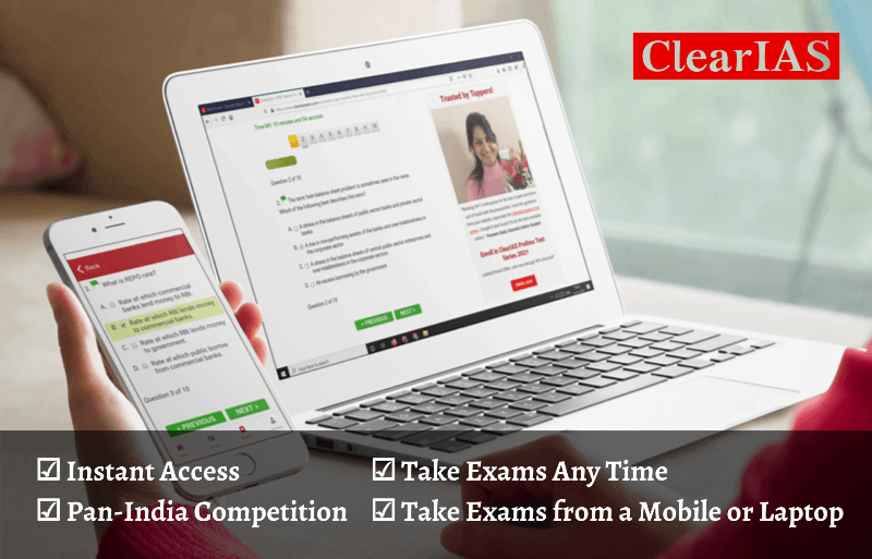 ClearIAS UPSC Prelims Online Mock Test Series 2021